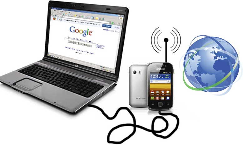 3 Cara Tethering Hp Android Ke Laptop Usb Bluetooth Dan Wifi Hotspot